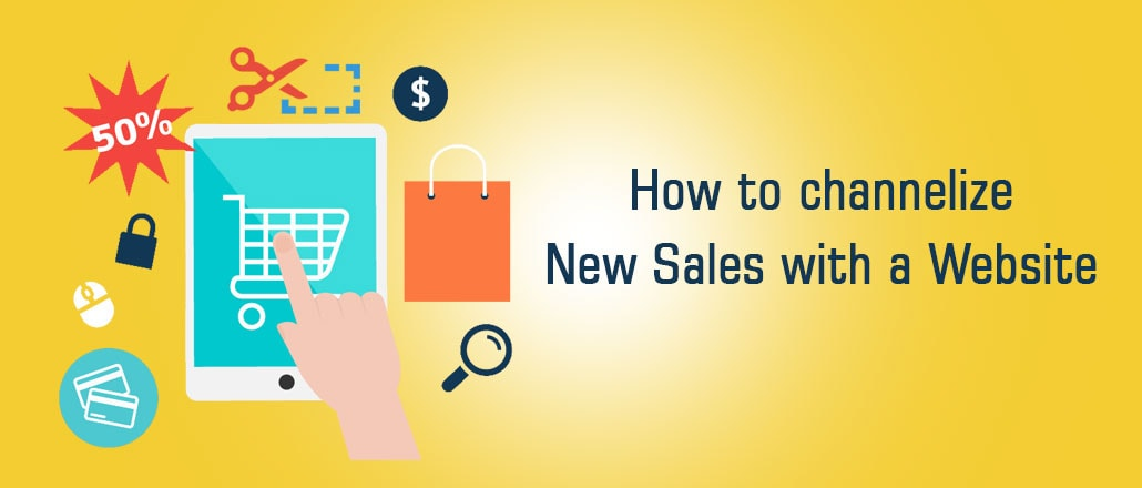 How to channelize New Sales with a Website